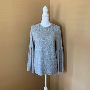 Zara Trafaluc Bell Sleeve Sweater